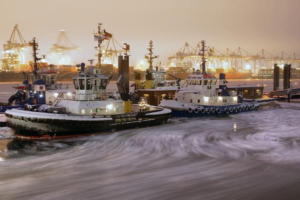 noite porto hamburgo portas elba trator
