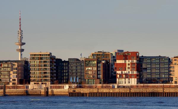 novo porto novo edificio hamburgo torre