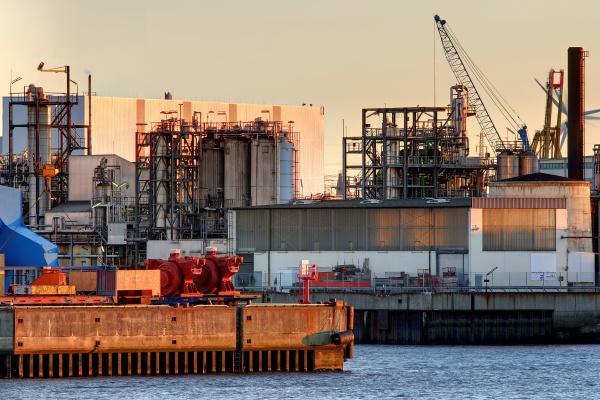 industria noite porto hamburgo portas cais