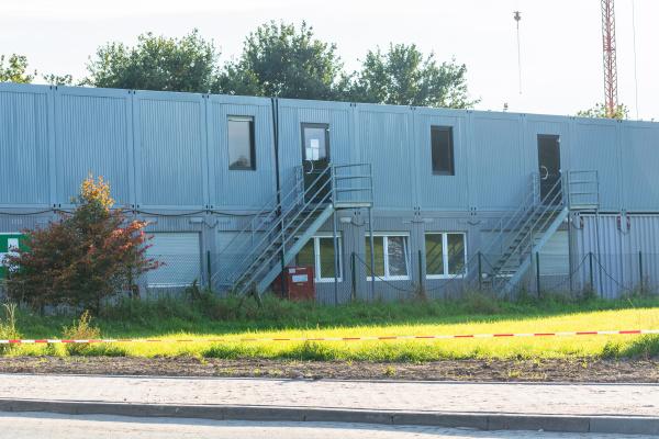 assentamento de conteineres residenciais