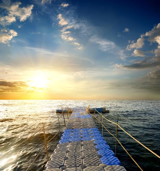 pontao no mar