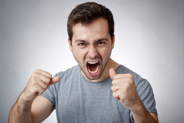 young, man, shouting - 17788995