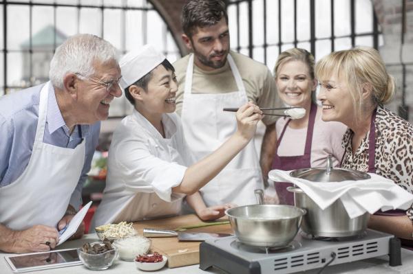 educacao cozinheiros cozinhar togetherness interior estudante