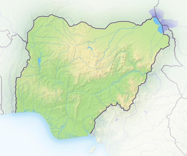 africa limite mapa contorno contornos africano
