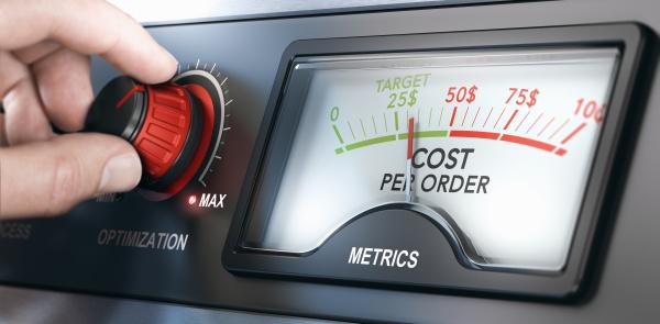 metricas custo por pedido medicao de