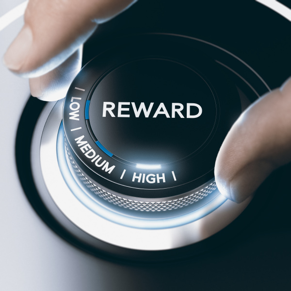 programa de recompensa conceito de motivacao