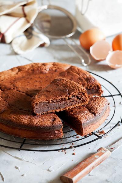 bolo, de, chocolate, caseiro, doce - 28215307