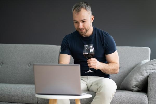 festa de degustacao de vinhos virtuais