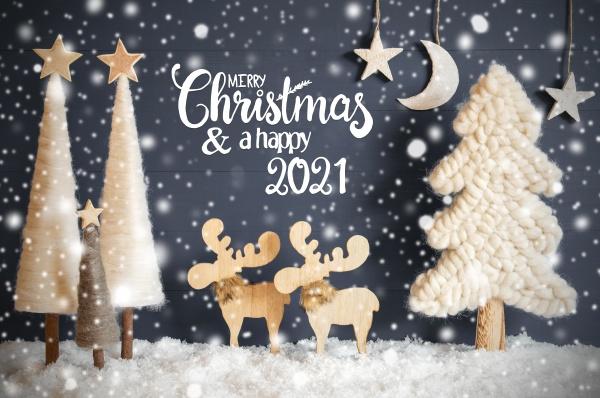 caligrafia inglesa feliz natal e feliz