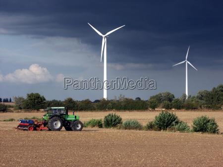 a energia eolica ea agricultura