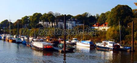 azul casas arbol arboles barcos velero