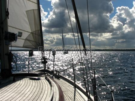 viajar horizonte ferias navios barco a