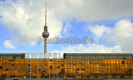 janela berlim capital torre de televisao