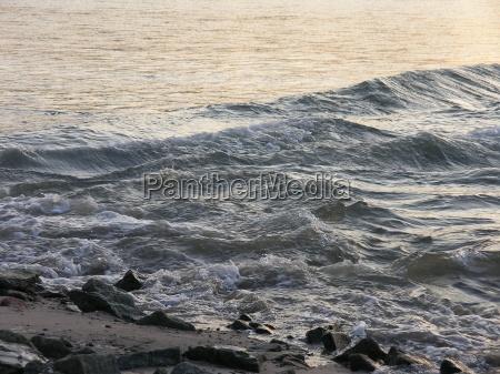 reno frio ondas gegenlicht onda espetaculo