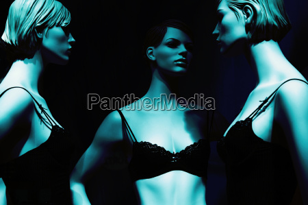 azul mulher mulheres moda frio negro
