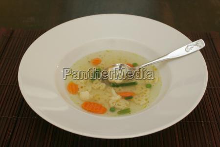 sopa de macarrao