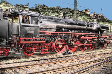trem veiculo transporte locomotiva a vapor