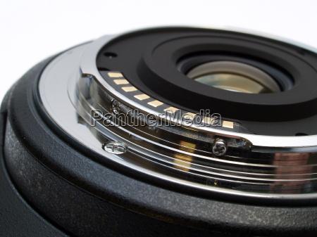 montagem de lente