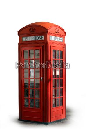 cabine de telefone
