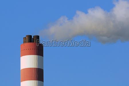 industria concreto alto chamine