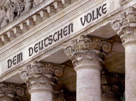 vista berlim alemanha capital reichstag parlamento