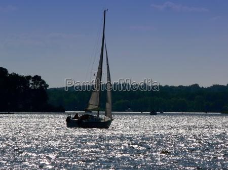 navegando no wannsee berlim