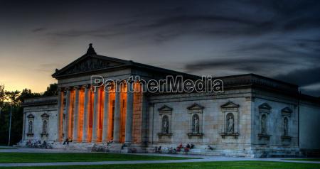 salao arte cultura antigo noite colunas