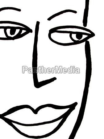 face desenho foto