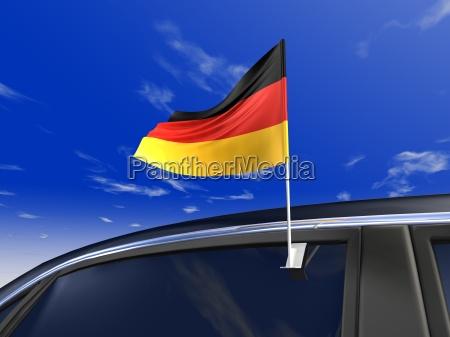 fahne bandeira alemanha