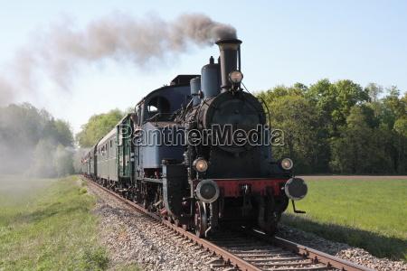 abordagens antigo trem a vapor