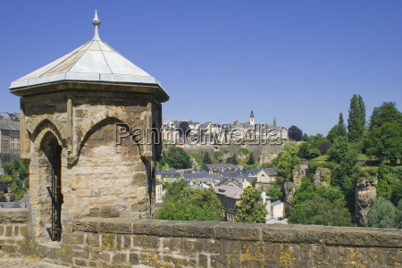 city and fundamental luxembourg