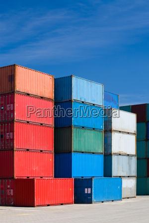 azul industria recipiente frete para recipientes