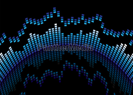 tecnologia abstrato audio frequeencia amplificador organizador