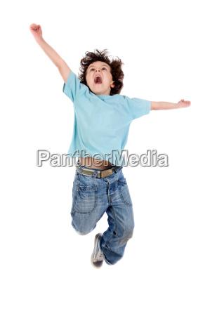 salto da crianca