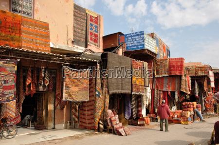 tapetes do berber em marrakech