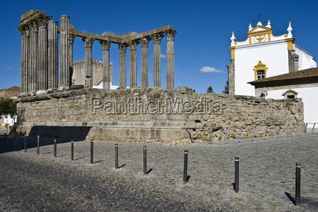 portugal evora diana tempel 1