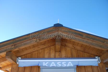 kassa checkout cottage in austria