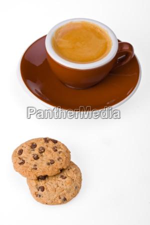 copo do cafe e dos biscoitos