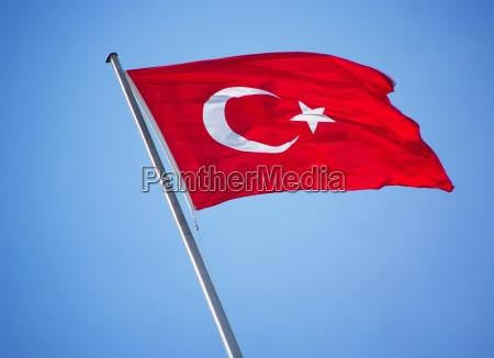 bandeira turquia estado ceu rugas nationalflagge