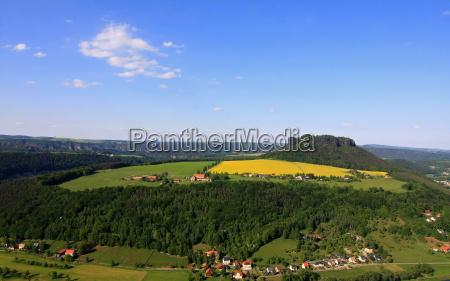 montanhas primavera alemanha paisagem natureza floresta