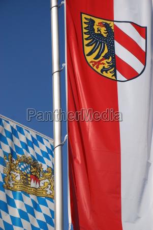 nuremberg bavarian flag