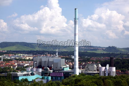 industria planta industrial calor chamines gaze
