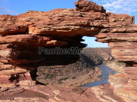 parque australia ocidental nacional janela