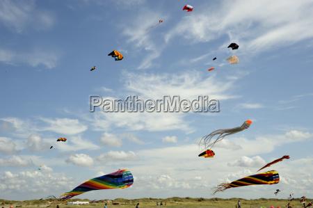 stunt kite flying