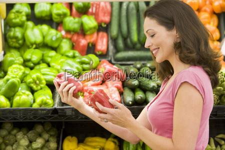 compra da mulher para pimentas de
