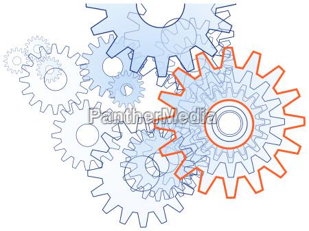 gear team technik free simbolo