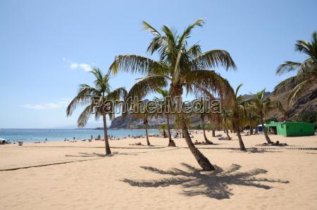 playa de las teresitas tenerife espanha
