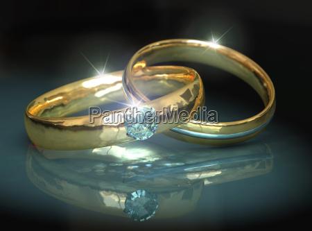 casamento vida da comunidade diamante aneis