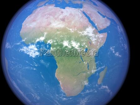 Africa do espaco
