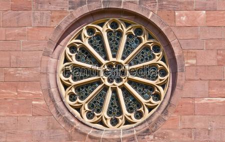 objeto arte janela janela da igreja